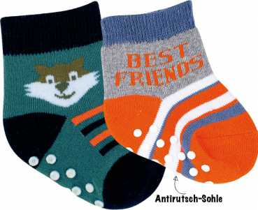 "RS. HARMONY BABY SOCKEN ""BEST FRIENDS"""